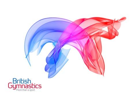 British Gymnastics branding