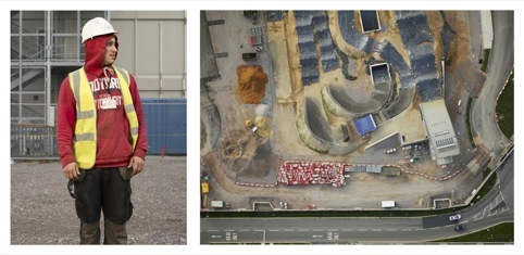 BMX Track and Jamie Thomas, a Groundworker