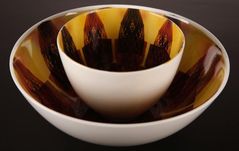Baroque Bowls, by Emily Ruffle