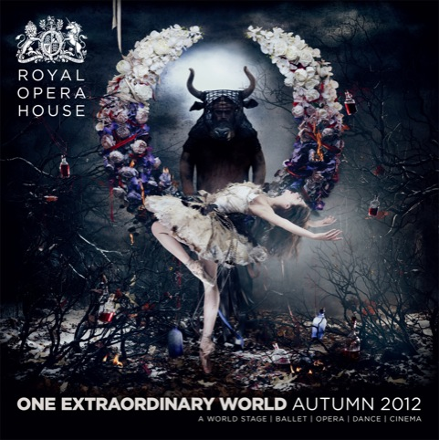 Royal Opera House Autumn programme cover