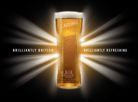 Echo's Carling Brilliantly British Campaign