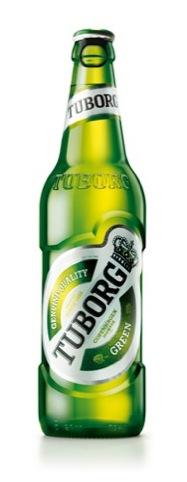 Tuborg bottle, by Turner Duckworth