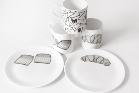 Diet/Archeology Ceramics by Studio Lav (Central Saint Martins)