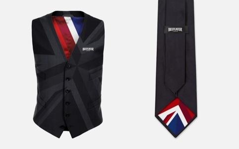 Waistcoat and tie