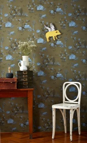 Magnetic Wallpaper, Sian Zeng, Cockpit Arts Deptford