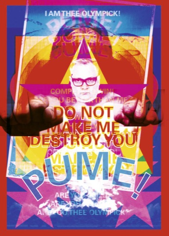 PUME! I am thee olympicks! - Graham Wood