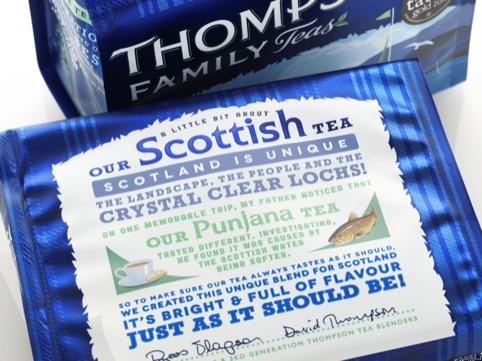 Scottish Tea back of pack