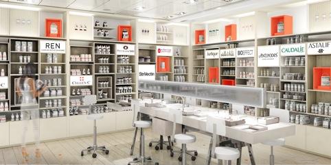 new Selfridges beauty department concept
