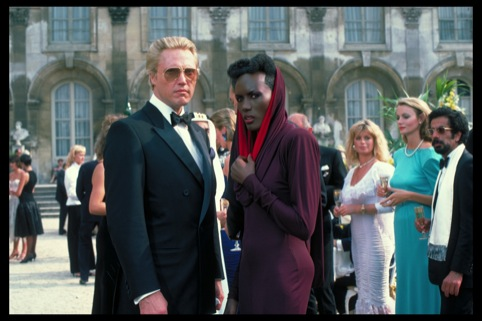 Zorin and May Day at French chateau