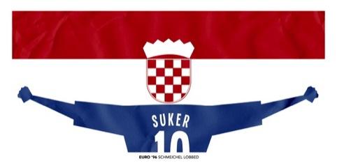 Croatia - Schmeichel lobbed