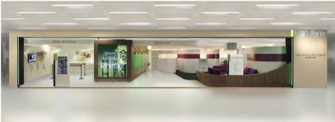 M&S Bank interior