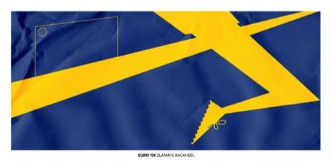 Sweden - Zlatan's Backheel