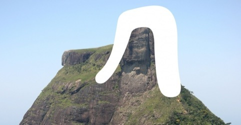 'R' and Rock of Gávea
