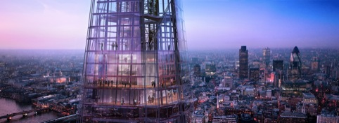 Levels 68, 69 and 72, which will house the View from The Shard