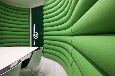 Google head office design by Penson
