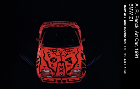 AR Penck's Art Car, 1991
