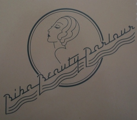 Biba Beauty Parlour Logo 1973, designed by Steve Thomas