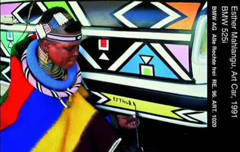 Esther Mahlangu,1992