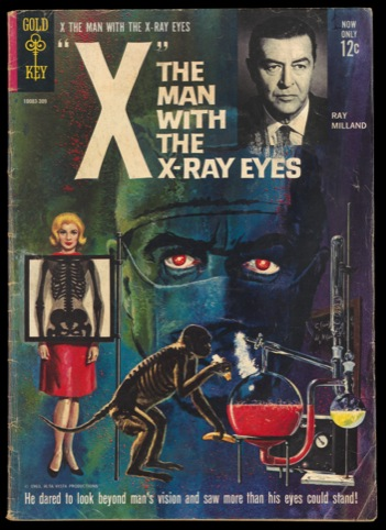 """X"", the man with the X-ray eyes"