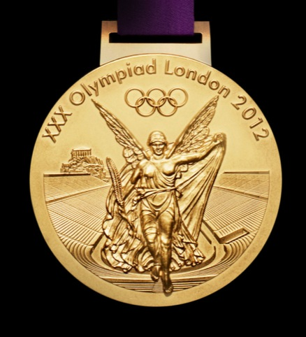 Olympic gold medal reverse