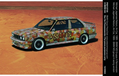 Michael Jagamara Nelsin Art Car 1989