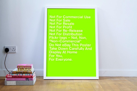 Not for Commercial Use poster