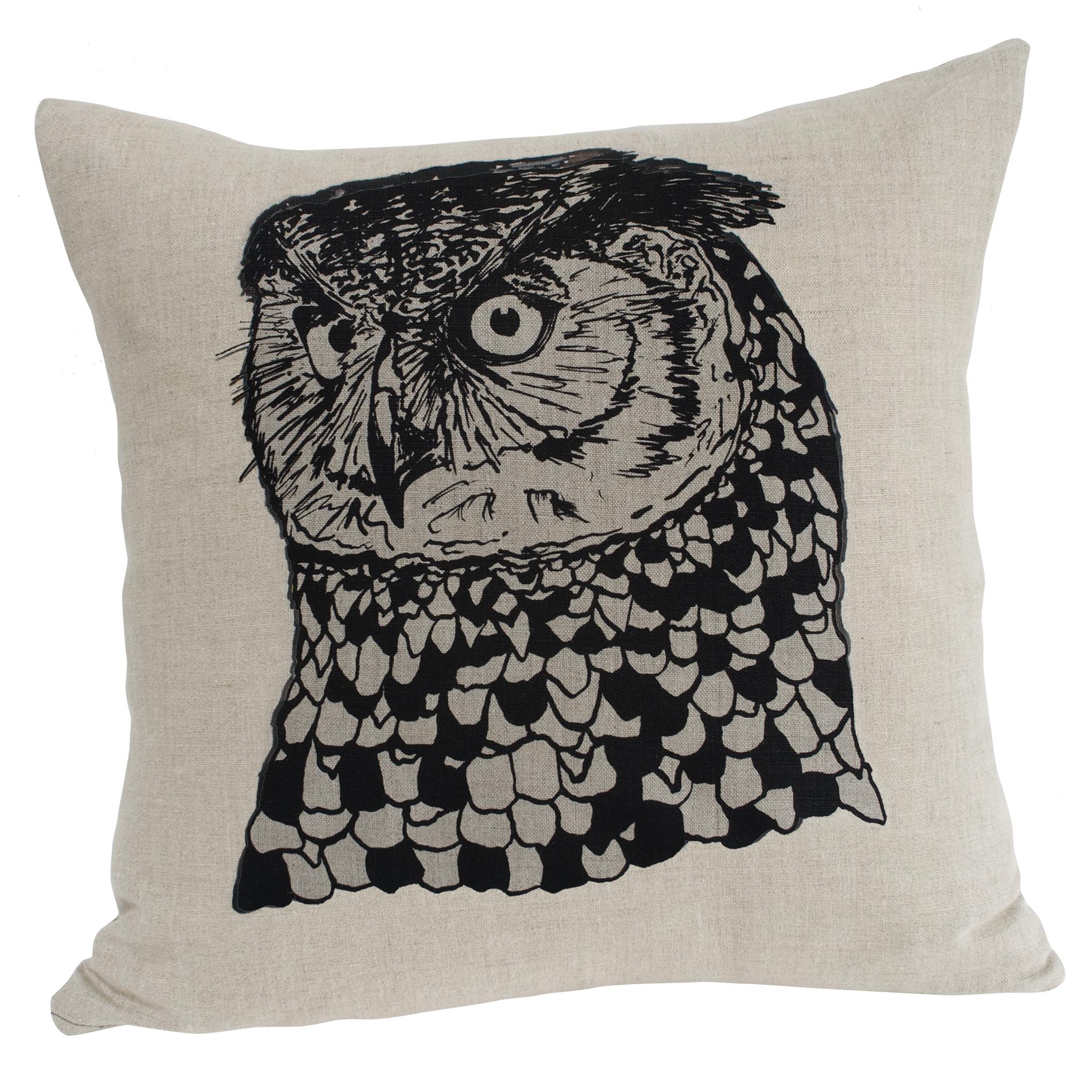 Owl Cushion by Sam Pickard