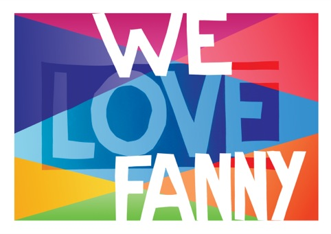 Quiet British Accent's I Love Fanny print
