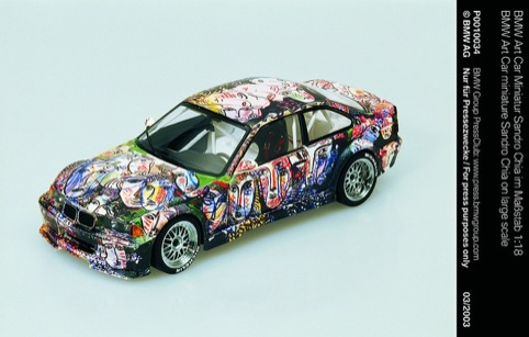 Sandro Chia Art Car 1992