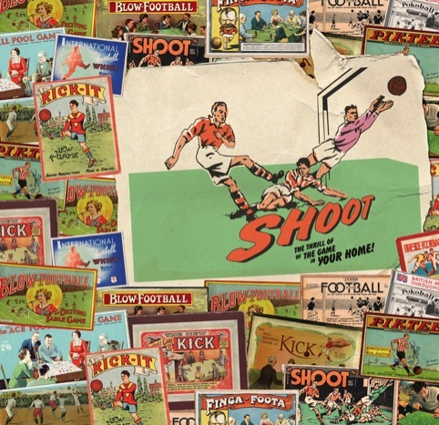 National Football Museum graphics by 1977 Design