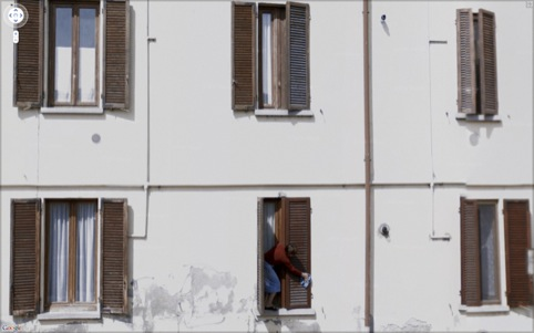 Jon Rafman Via Colombo, Mediglia, Lombardy, Italy 2009
