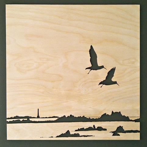Wood Print by Rob Braybrooks
