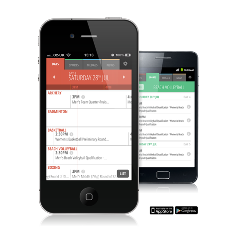 Go 2012 app by Nic Mulveany of Allofus