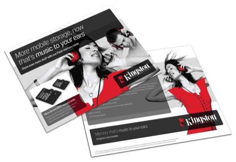 Stocks Taylor Benson's brand communications for Kingston Technology