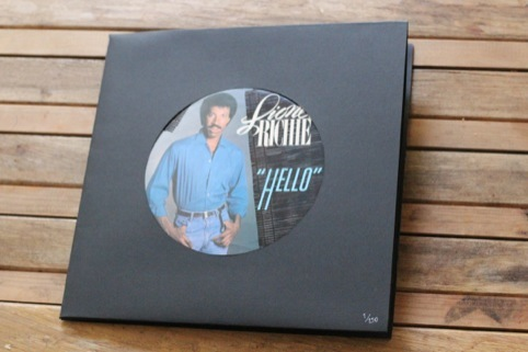 "Lionel Richie 7"" packaging"