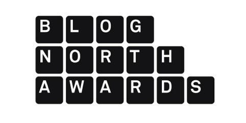 Blog North Awards logo