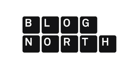 Blog North logo