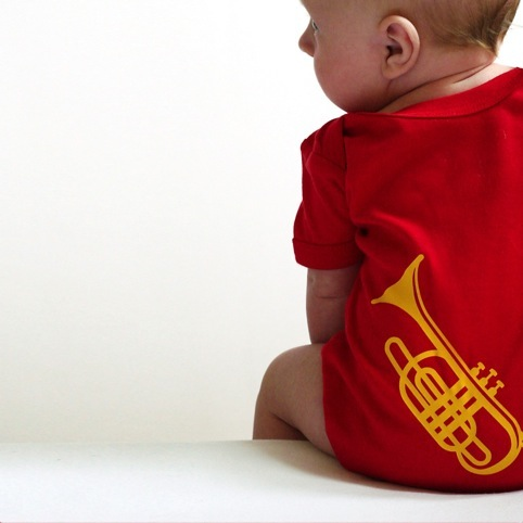 Bum Note Baby Grow