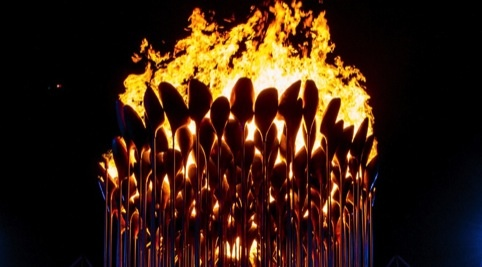 Heatherwick Studio's Olympic cauldron