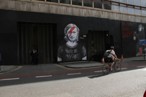 Guetta by Mr Brainwash at The Old Sorting Office