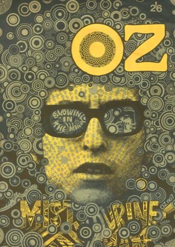Oz, Martin Sharp et al., 1967 to 1973, Oz Publications Ink Ltd, UK / Oz 7, 'Blowing in the Mind', October 1967