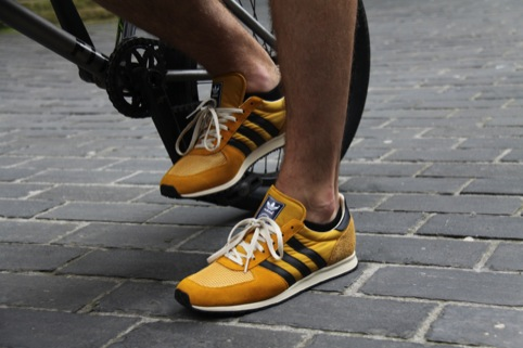 Classic Adidas (we think these are Floridas - does anyone know for sure?)