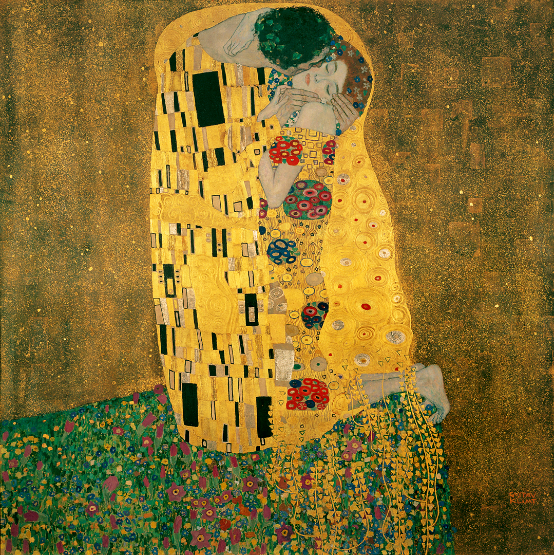 Gustav Klimt, The Kiss