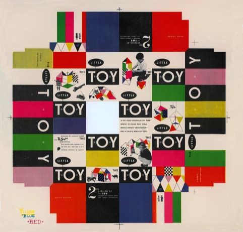 Little Toy box cover 1952