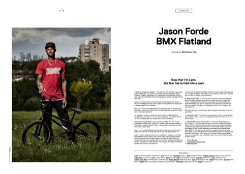 Jason Forde, BMX Flatland