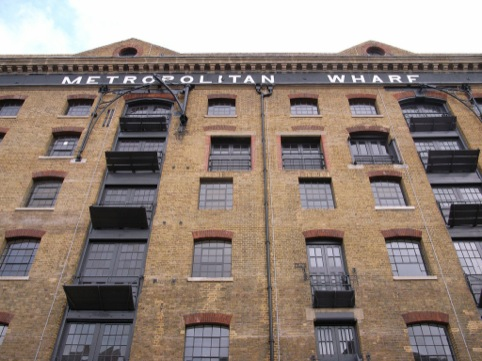 Metropolitan Wharf frontage