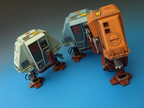 The Vanishing Point,  Silent Running  robots