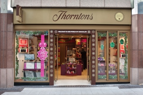 The Thorntons retail concept created by Inspire in February this year