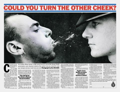 Metropolitan Police ad, by Tony Godfrey