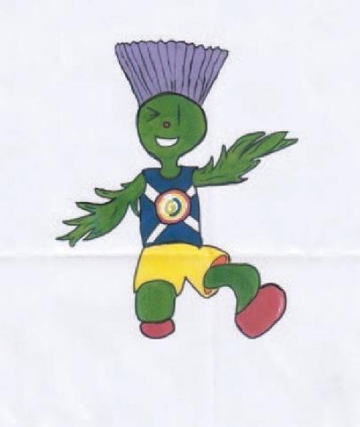 Beth Gilmour's original design for Clyde